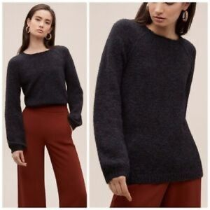 Aritzia Wilfred Chapais Bell Sleeve Wool Sweater